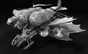 flying machine by Vladimir Voronov