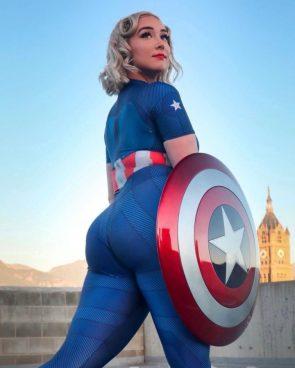 Captain America by Whitney Wright wdubb