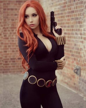 Beke Jacoba as Black Widow Marvel Comics