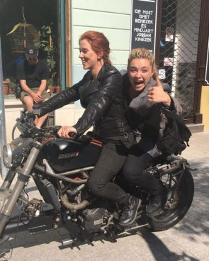 Florence Pugh really enjoyed filming Black Widow with Scarlett Johansson