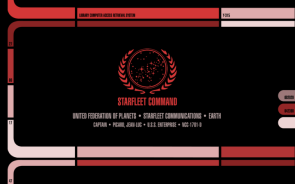 OC LCARS Inspired Wallpaper Series – Star Trek TNG