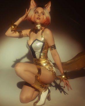 Prestige Ahri League of Legends by Shirogane sama