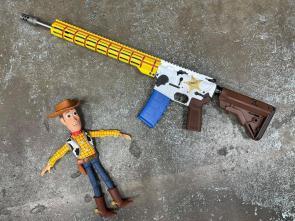 woody rifle