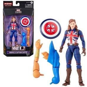 Marvel Legends What If Captain Carter 6-Inch Action Figure