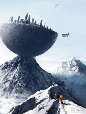 Edge City by Alex Andreyev