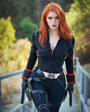 Black Widow Cosplay by armoredheartcosplay