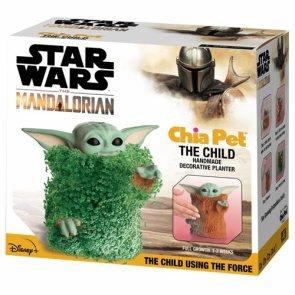 Star Wars The Mandalorian Child Using the Force Chia Pet