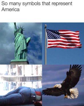 So many symbols that represent America