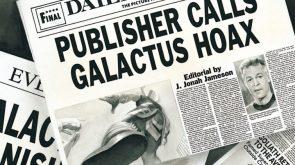 Publisher Calls Galactus Hoax