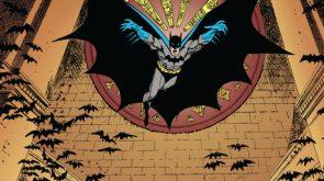Batman Leaping