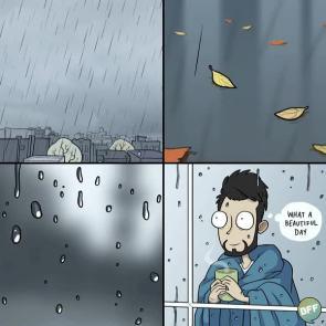 Rainy Day by Adam Ellis
