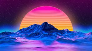 Vaporwave wallpaper
