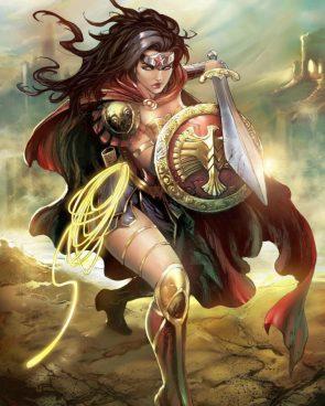 Wonder Woman by Tyler Kirkham