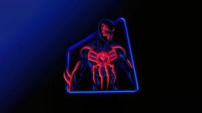 Neon Spider-man 2099