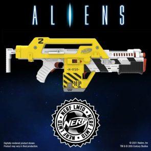 Aliens 35th Anniversary NERF LMTD M41-A Blaster Pulse Rifle