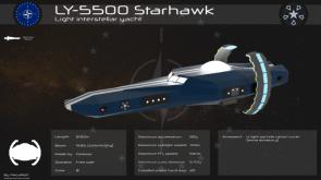 LY-5500 Starhawk by PecaWolf