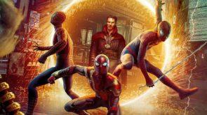 Spider-mans and Doctor Strange