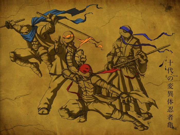 The Original Mutant Ninjas