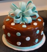 Cake with Bow-001