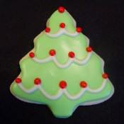 Christmas Tree Cookies 1