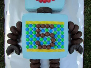 Robot Cake - Middle
