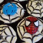 Spider-man Cupcakes 3