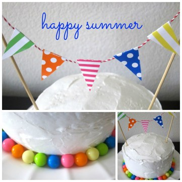 Happy Summer Cake - this+is+happiness