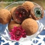 Шоколадови Трюфели (бонбони) с глазирани череши
