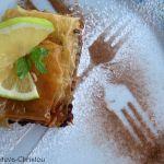 Гръцка Баклава с Три вида Ядки и Лимон