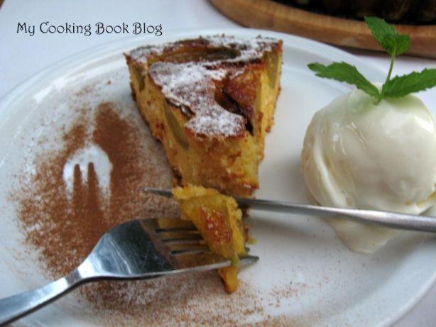 Изварен Сладкиш с Царевично брашно и Смокини