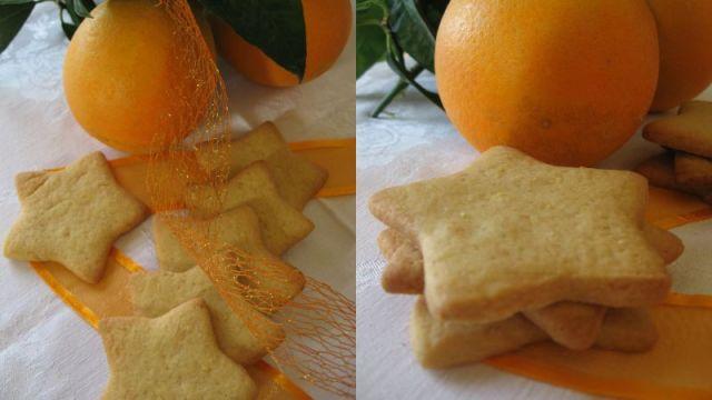 Портокалови Курабийки Звезден Дядо Коледа