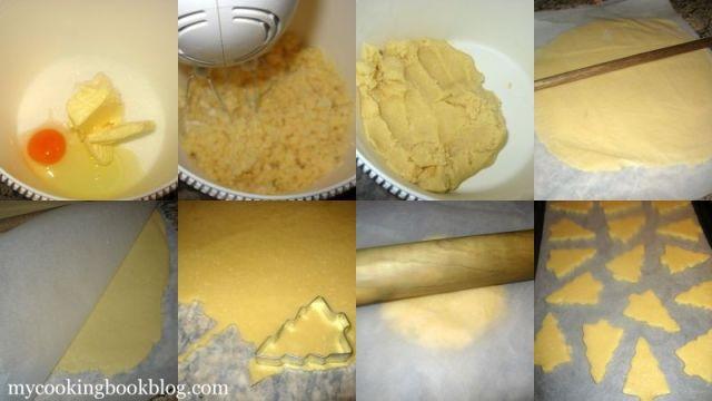 Бисквити Кокосови Елхички