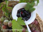 Сладко от черно грозде без семки