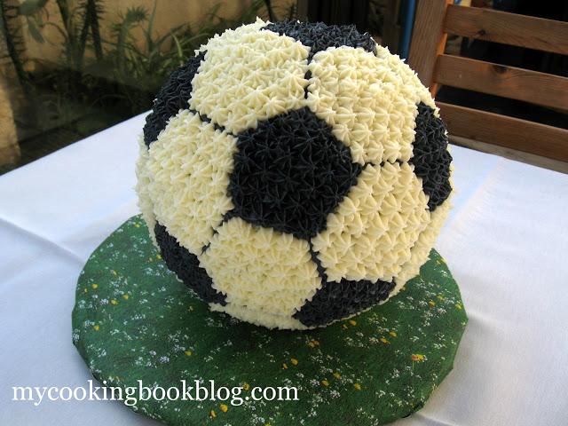 Торта футболна топка