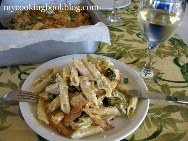 Пенне ригате (Penne rigate) на фурна с Броколи и Пилешко Филе
