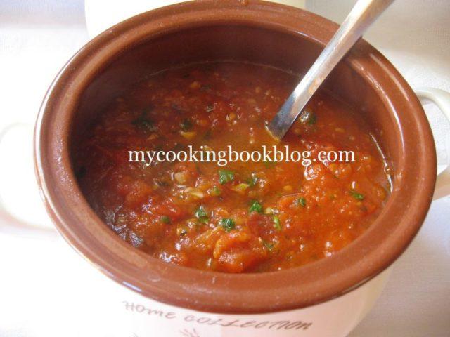 винено-доматен сос