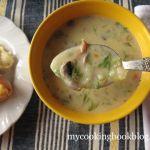 Гъбена Супа от Печурки и Рижика