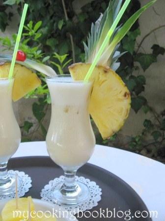 Пина Колада (Piña Сolada) със и без алкохол