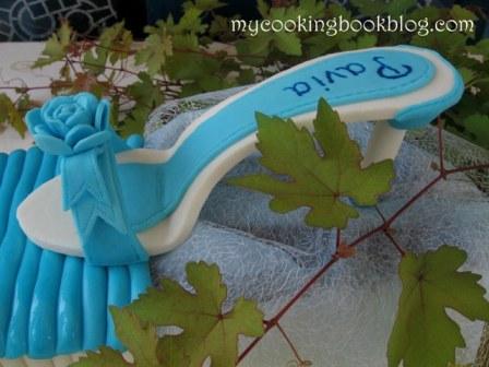 Торта с Тюркоазен Сандал