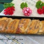Приплетен сладък хляб с лимон и маково семе