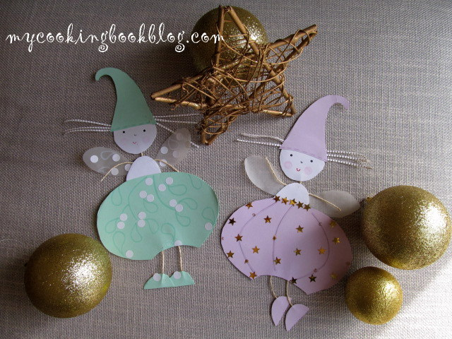Коледна декорация: Снежинки за прозорци или елха