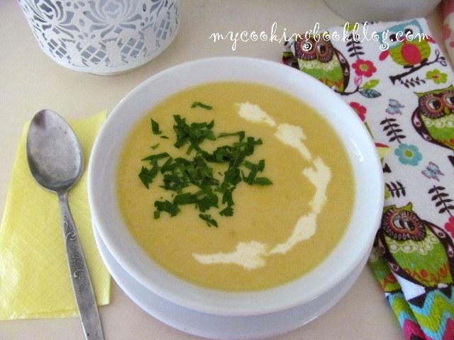 Крем супа с царевица