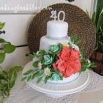 Торта за 40 - ти рожден ден
