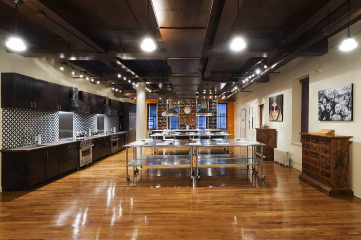commercial kitchen for rent nyc large round table rental studio space shooting mcp my cooking party flatiron click to view photos