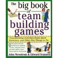 The big book of team building games.