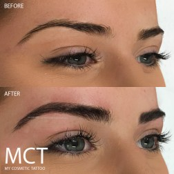 Eyebrow Feather Touch Tattoo