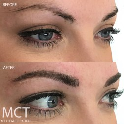 Brow Feather Touch Tattoo