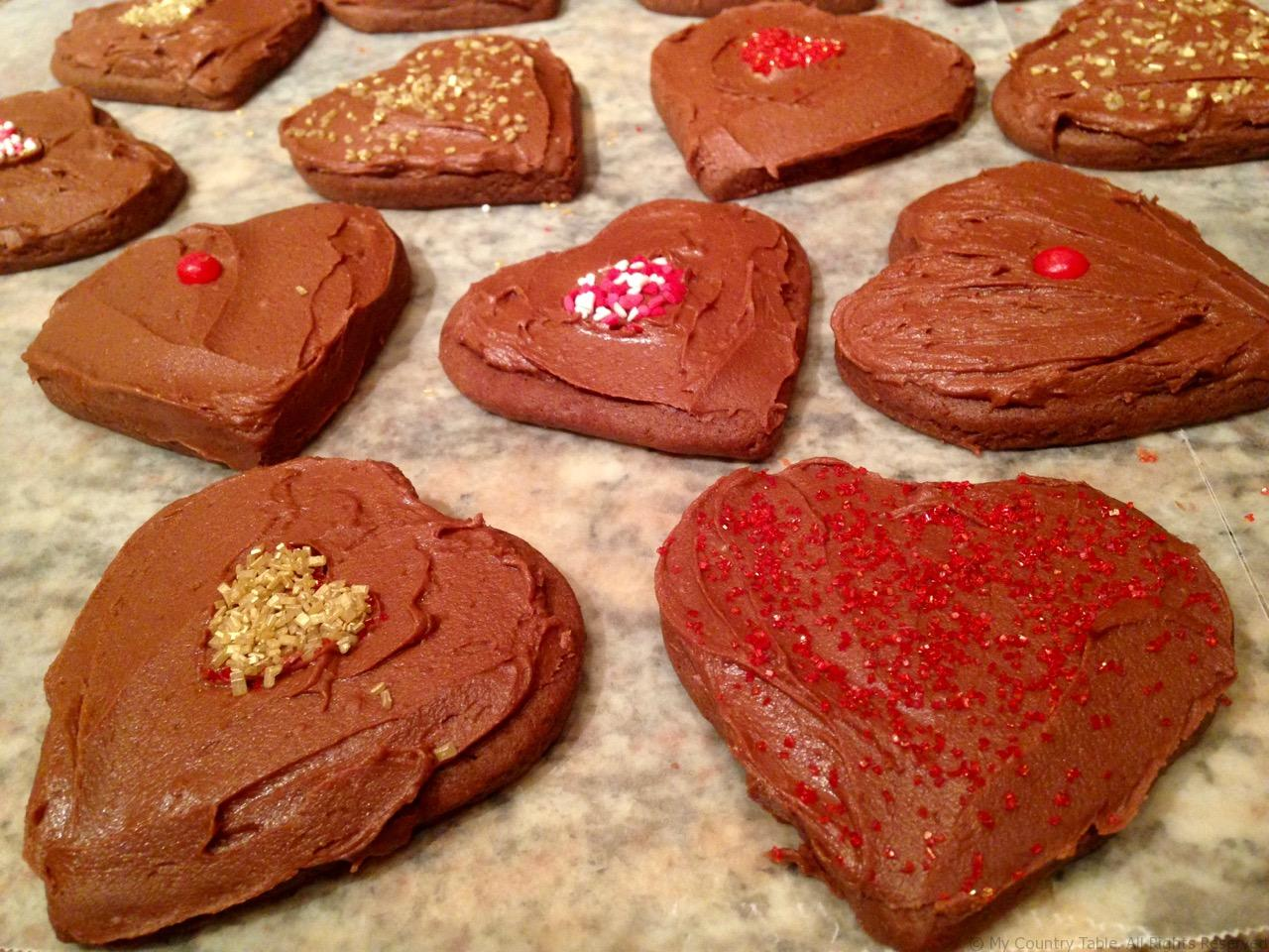 Chocolate Cocoa Shortbread Cookies