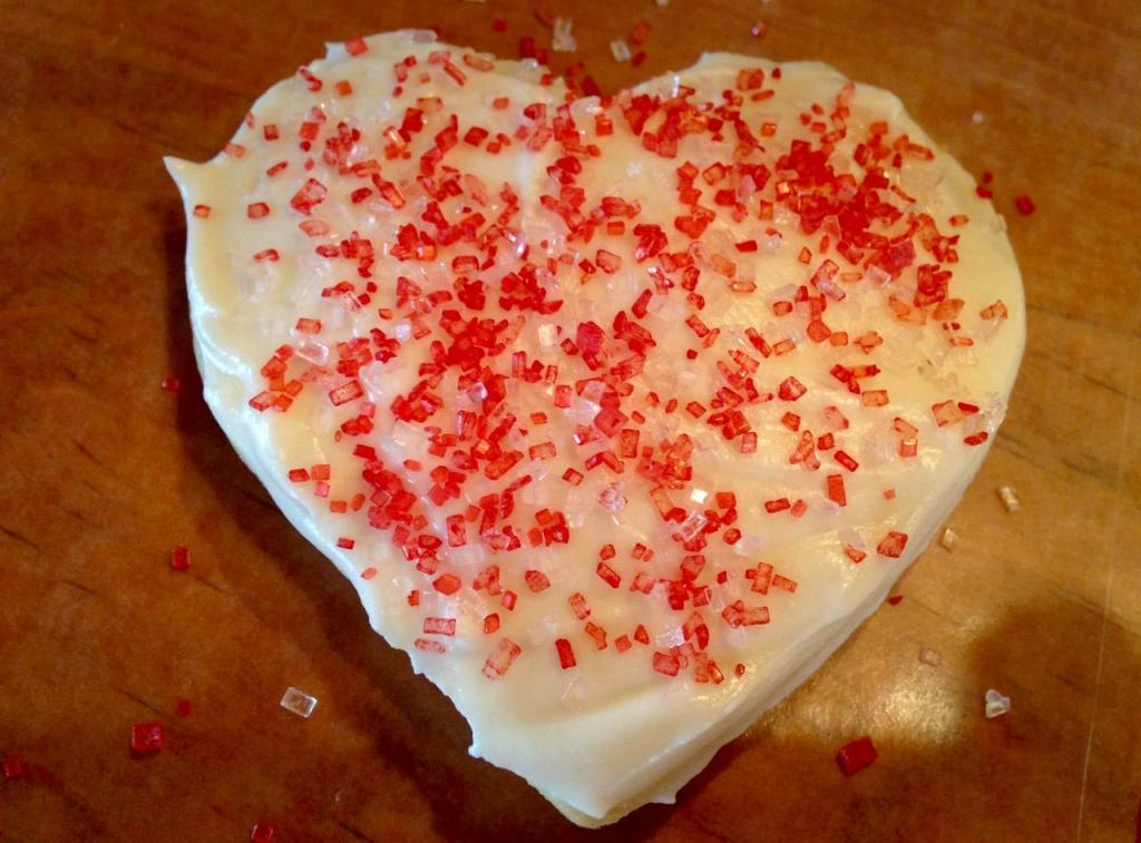Valentine Butter Cookies - 12