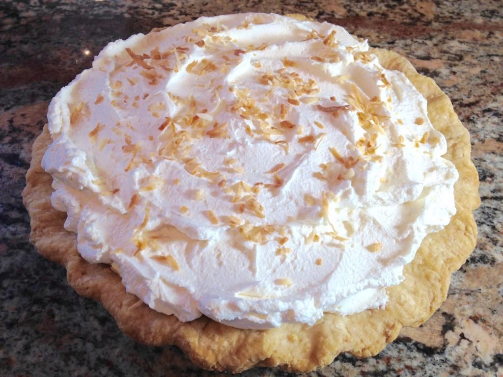 coconut cream pie - 25
